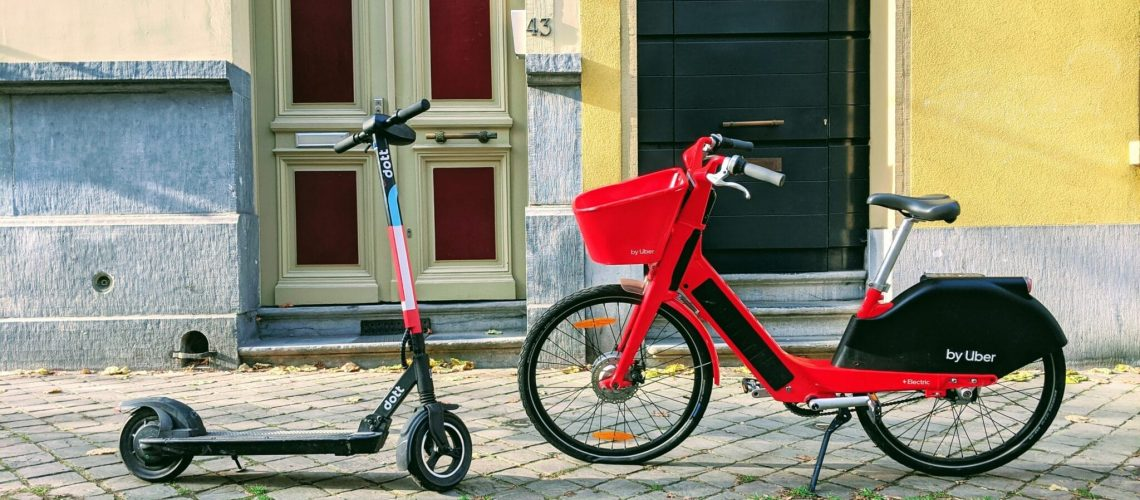 Micromobility e-scooters